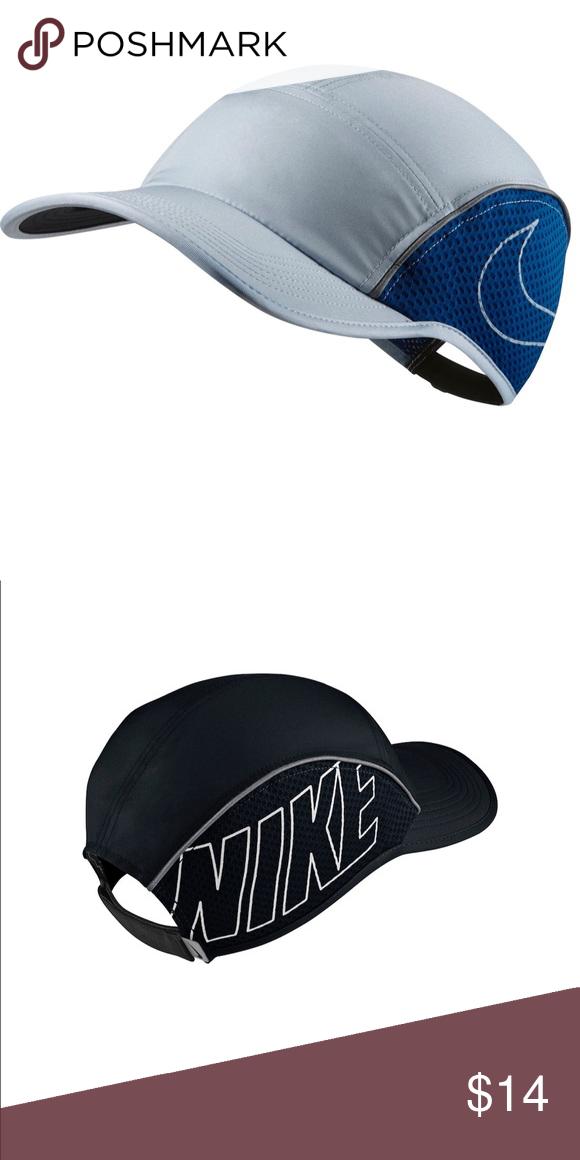Nike Aerobill Running Hat Light Blue Running Hats Nike Accessories Hats