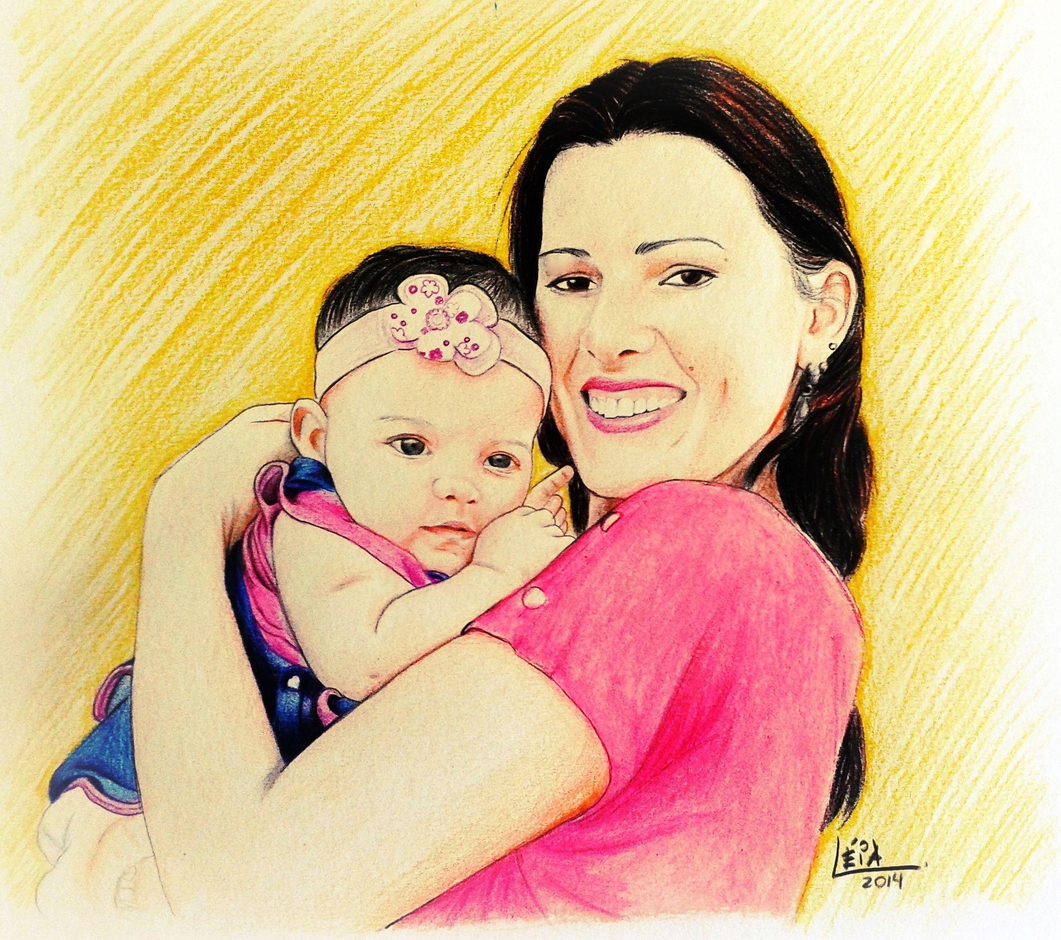 Rosy and Elizabeth - Mãe e filha