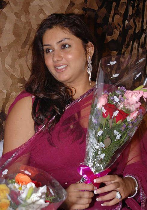 Telugu Actress Namitha In Salwar Kameez At Jaganmohini Trailer Launch