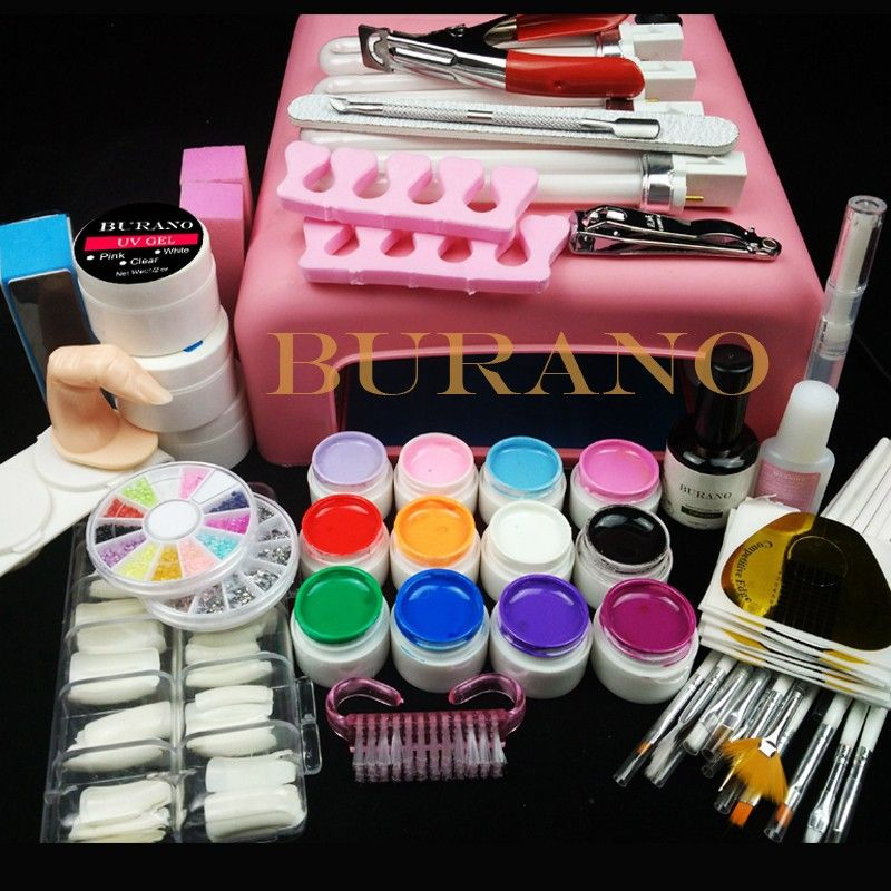 More then 70% off Hurry UP Burano Nail tools 36W UV GEL Lamp & 12 ...