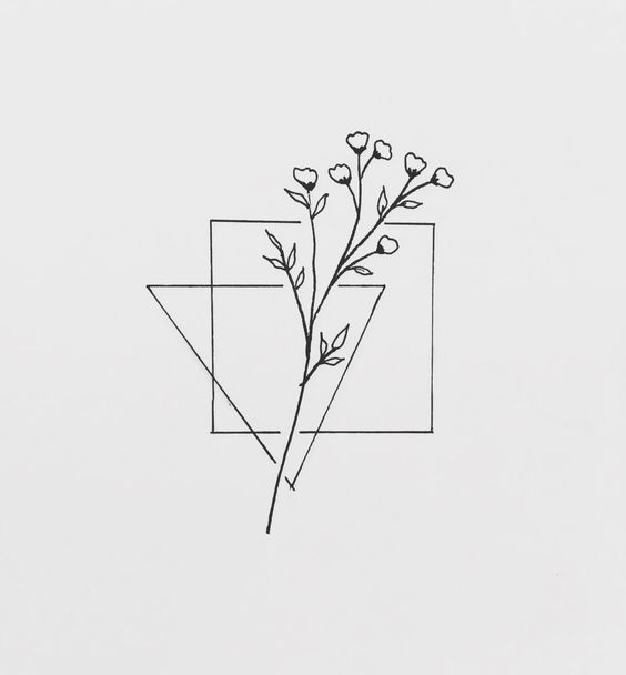 Photo of floral geometric drawing – christmas cocktails sketches #besttattooideas – diy best tattoo ideas