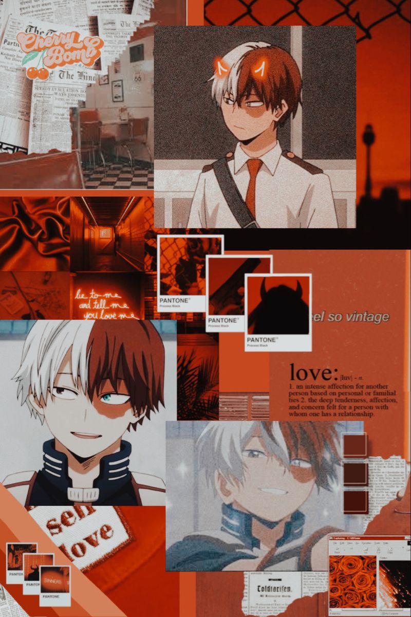 Aesthetic Todoroki Wallpaper Cute Anime Wallpaper Anime Wallpaper Kawaii Anime