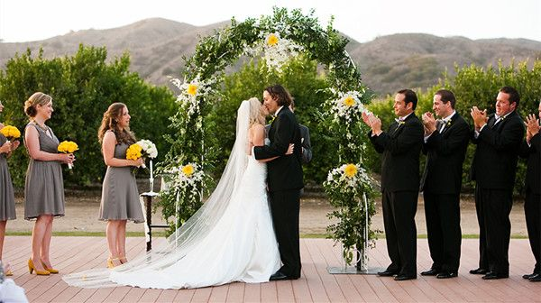 The Most-Awaited Kiss - Wedding Ceremony Timeline - EverAfterGuide