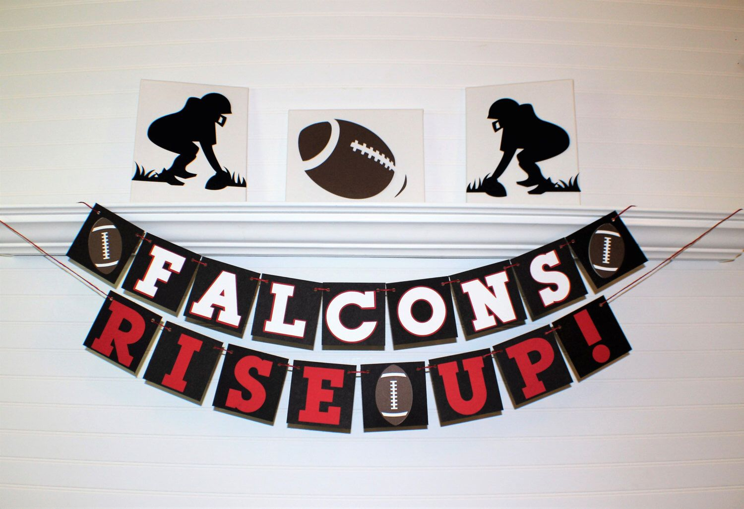 A Personal Favorite From My Etsy Shop Https Www Etsy Com Listing 493613142 F Atlanta Falcons Party Decorations Atlanta Falcons Birthday Atlanta Falcons Party