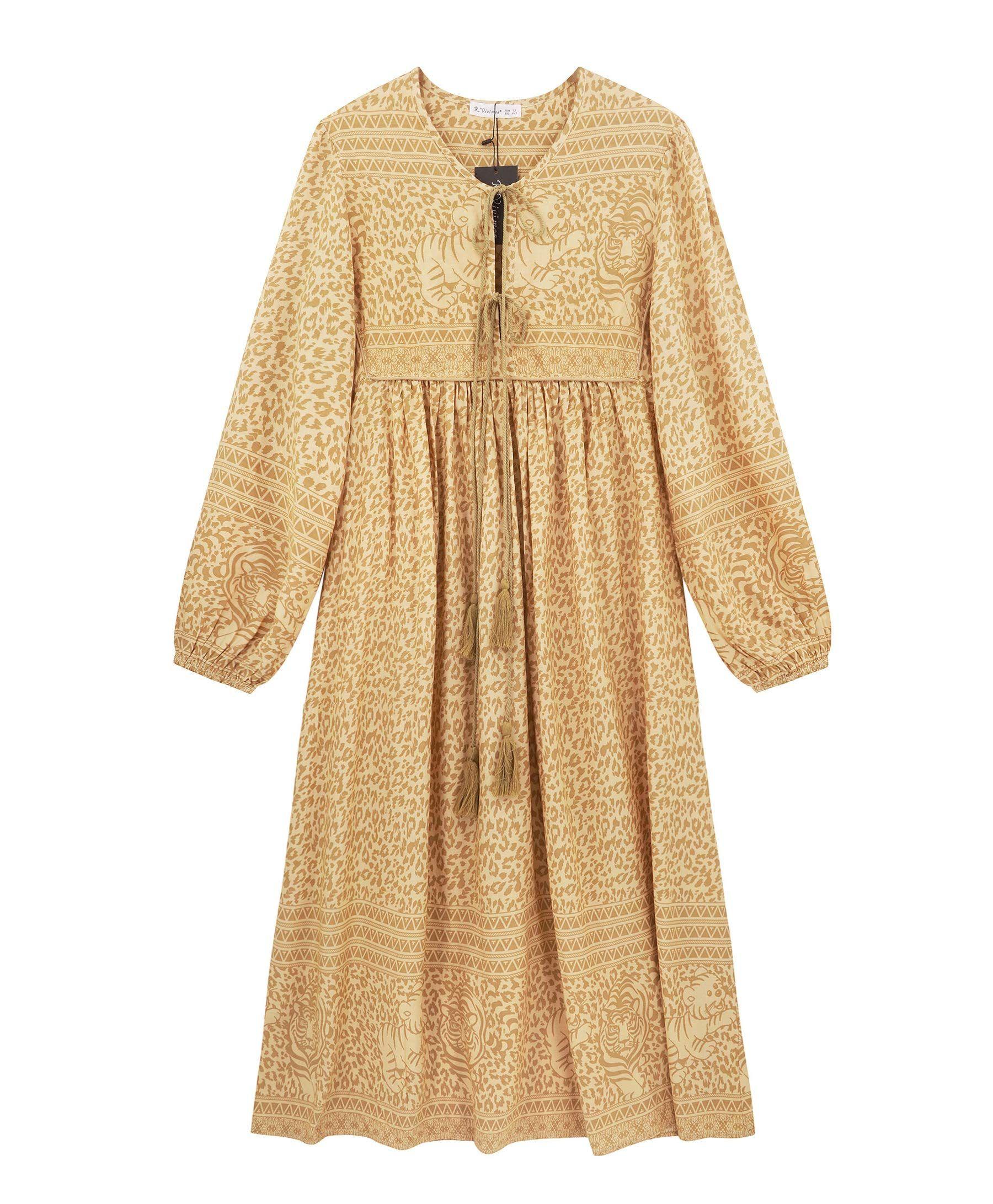 35 Oversized Dresses To Waft Around The House In Bohemian Midi Dress Oversized Dress Women Long Sleeve [ 2183 x 1800 Pixel ]