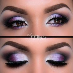 Ridiculously Gorgeous Purple Eyeshadow For Brown Eyes And Check Out That Perfect Eyebrow Makeup A Great Guide On Best Suited Colors