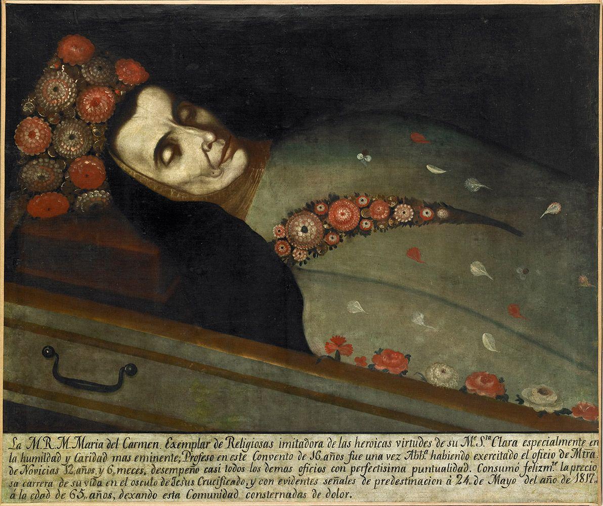 Sor María del Carmen | Colección de Arte del Banco de la República