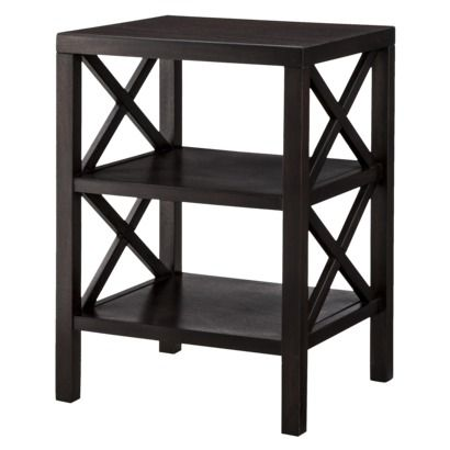 Owings End Table With 2 Shelves Threshold Guest Room