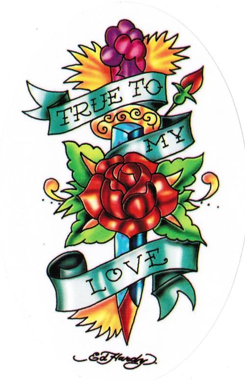 Ed hardy art in 2019 tatuajes ilustraciones rostros - Ed hardy designs wallpaper ...