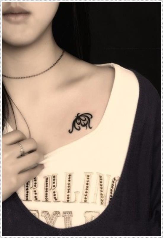 10 Beautiful Heartbeat Tattoos For Girls Tattoos For Girls Collar Bone Tattoo Chest Tattoo Girl Bone Tattoos