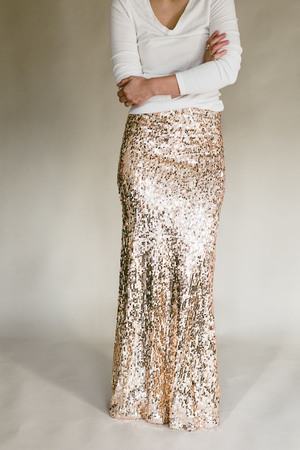 d737e647a0c Obsessed with sequin maxi skirts  So are we. What we dont love so much is  the price tag that they often come with