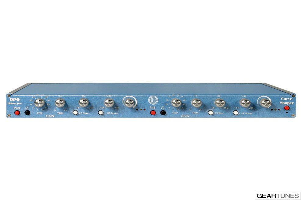 From the GearTunes library of tone ~ the AEA RPQ Ribbon Pre ~ click it to hear it :)