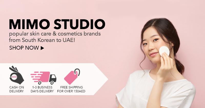 Mimo Studio Uae Dubai Online Shop Ecommerce Banner Skin Care Brands Cosmetics Brands Cosmetic Skin Care