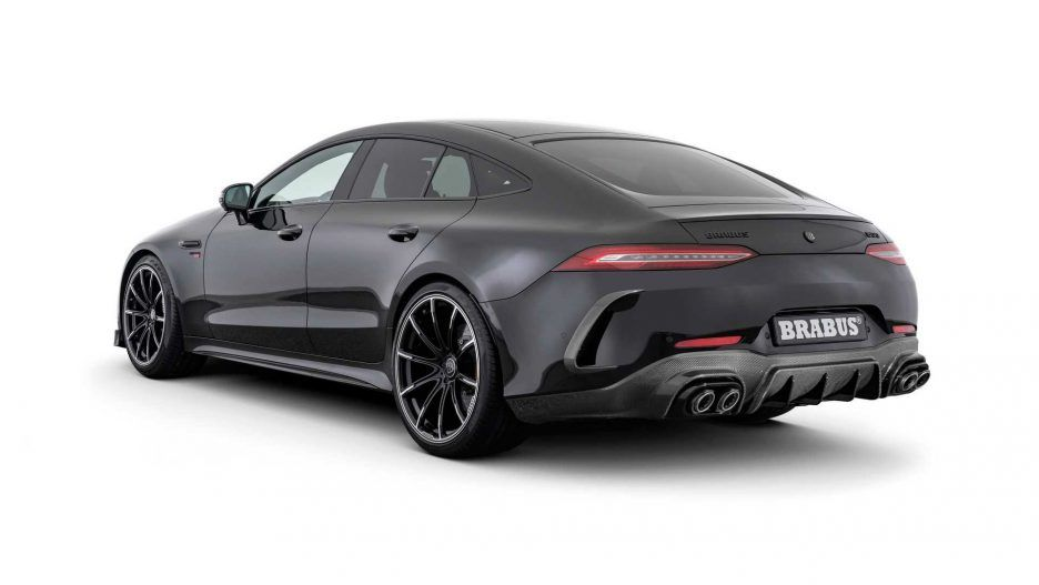 Brabus 800 Mercedes Amg Gt 63 S Rear Angle View Mercedes Amg Mercedes Benz Cars Amg