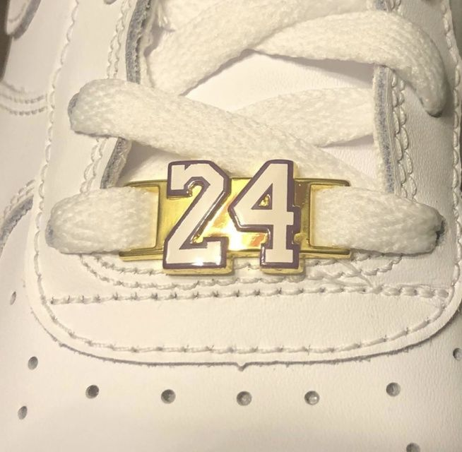 These hold a very special place in my heart as I watched this player grow from a kid to a legend. Wear them to honor him and the game we love.