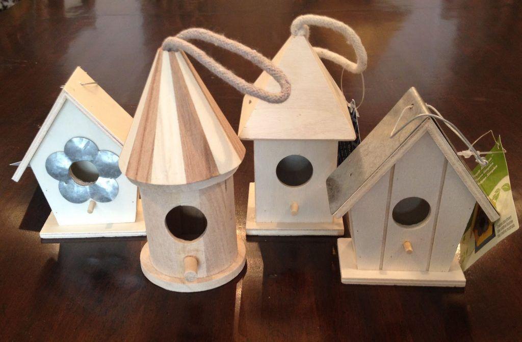 деревянные птицы-кормушки-Майклс