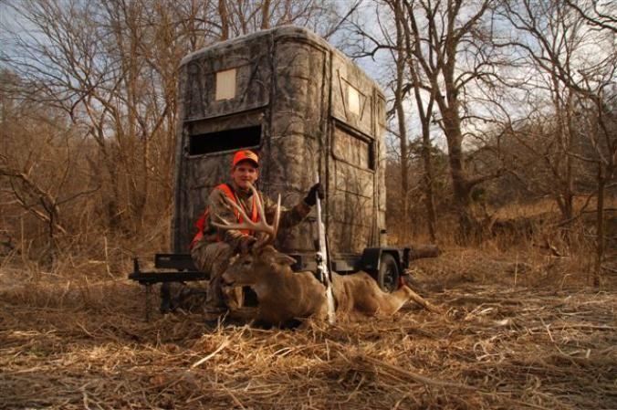 Homemade Portable Hunting Blinds deer hunting blinds - google search | deer hunting blinds and tree