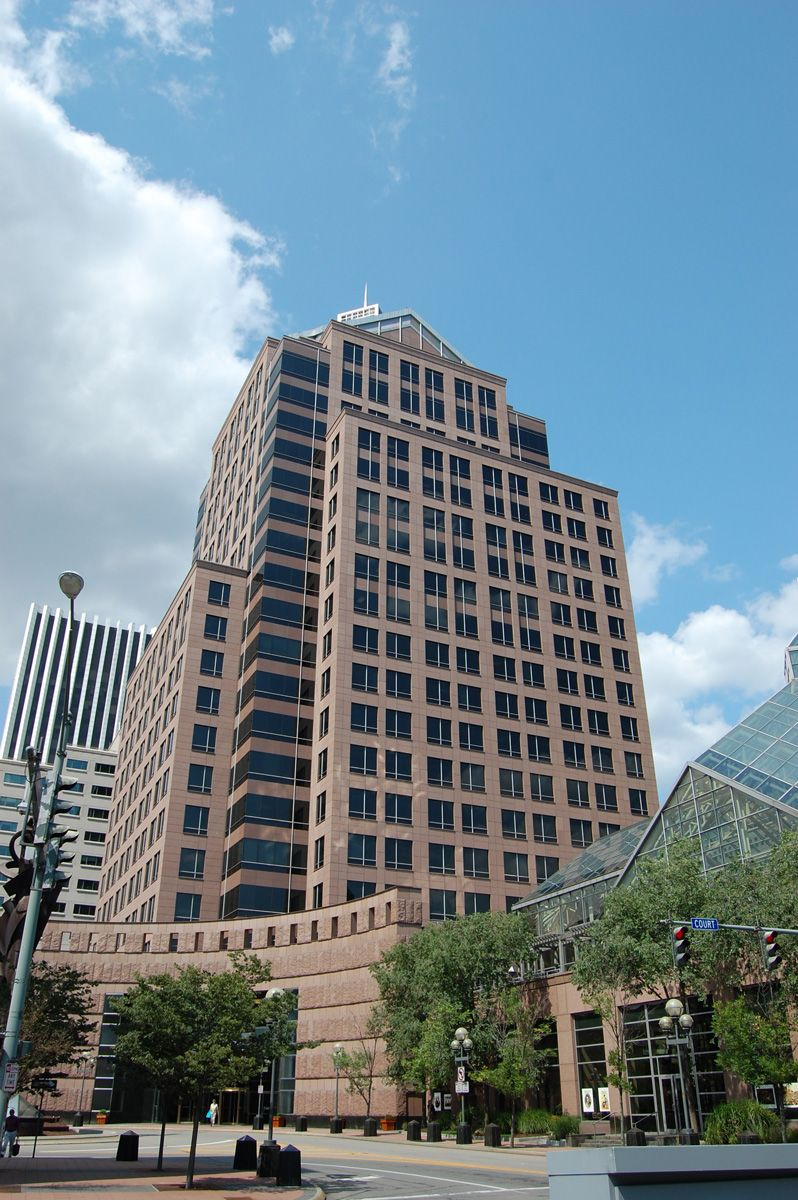 Bausch and Lomb Headquarters, built in 1995, Rochester