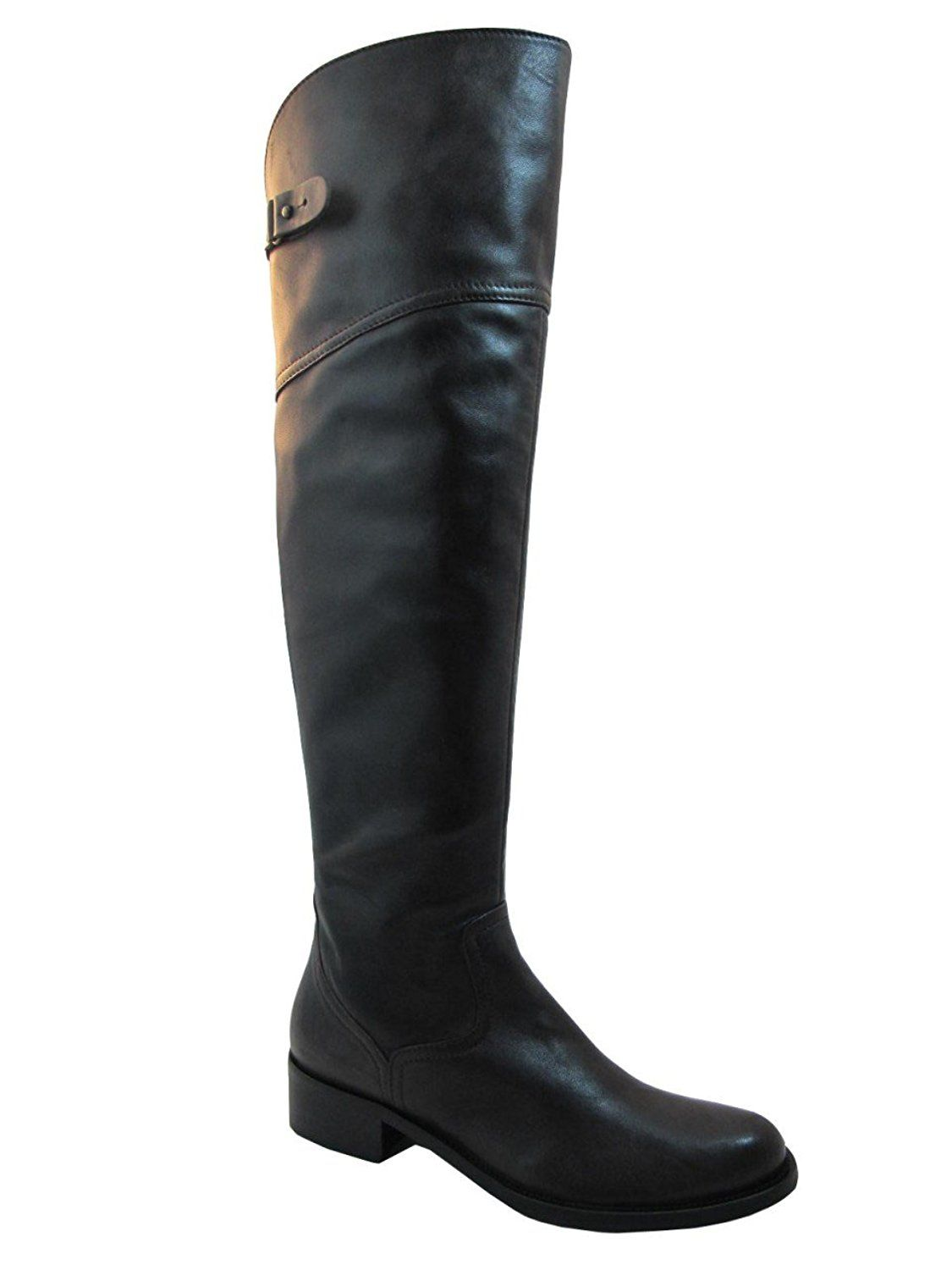 Womens Davinci Italian Leather 2580 Knee High Boots Brown This