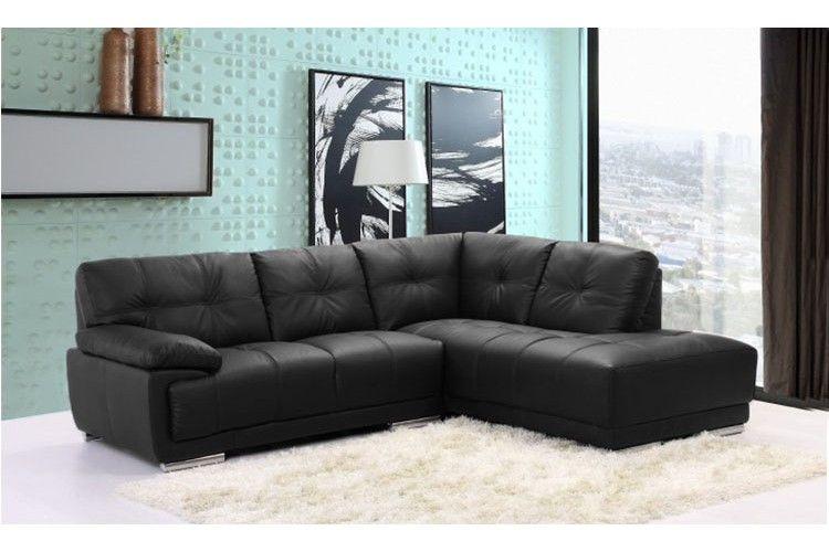 Kreativ Leder Ecksofa Schwarz Leder Ecksofa Suite Sofa Leather Corner Sofa Corner Sofa Sofa Decor
