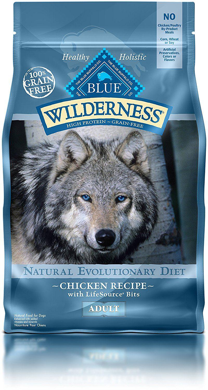 Wilderness Blue Buffalo High Protein Dry Adult Dog Food Tried