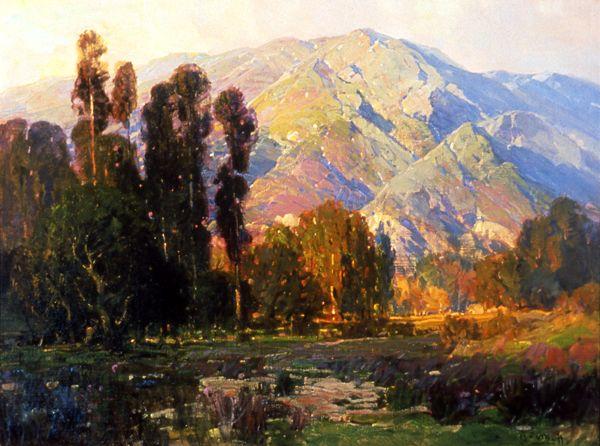 hanson puthuff paintings | Puthuff_HansonDuvall_ApproachingofEvening_1950.016_bigweb