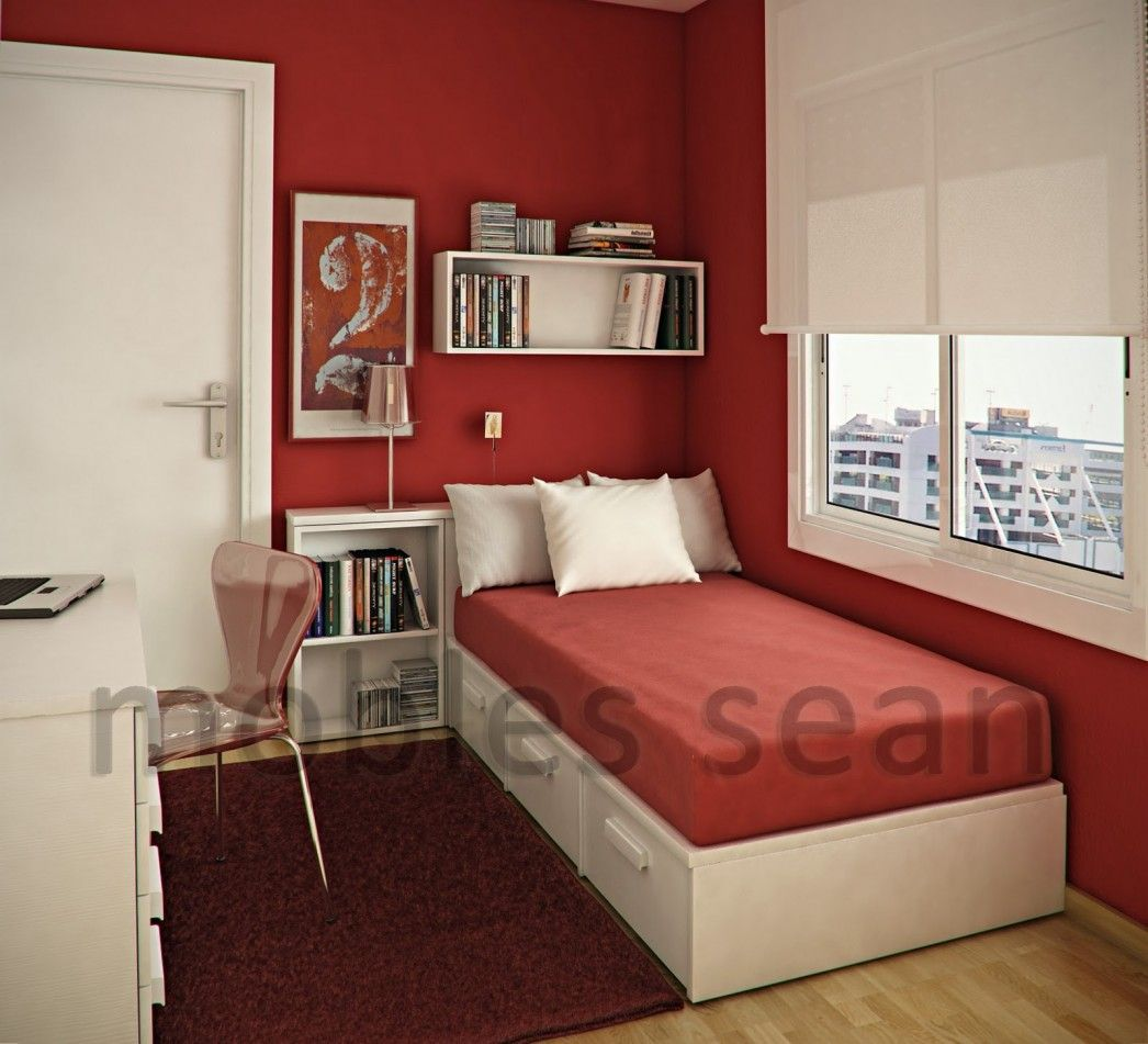 Image Result For Small Single Bedroom Ideas Room In 2020 Bedroom