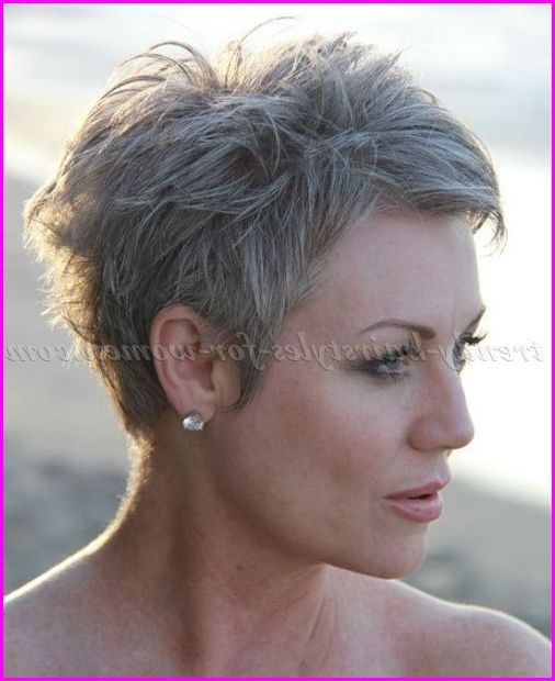 Short Pixie Cuts For Grey Hair - Best Hairstyles