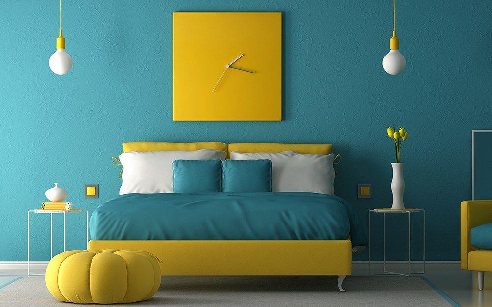 Teal Bedroom Ideas 20 Bedroom Color Combination Trends In 2020 In 2021 Bedroom Color Combination Turquoise Bedroom Walls Teal Bedroom