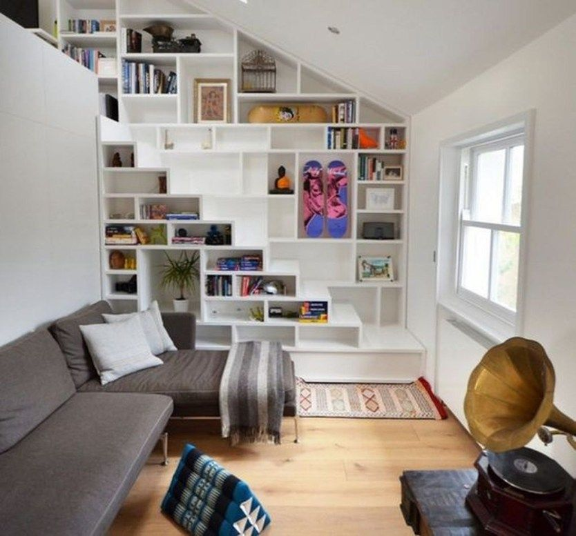 Creative Ideas For Small Spaces: Smart And Creative Storage For Small Spaces Ideas 12