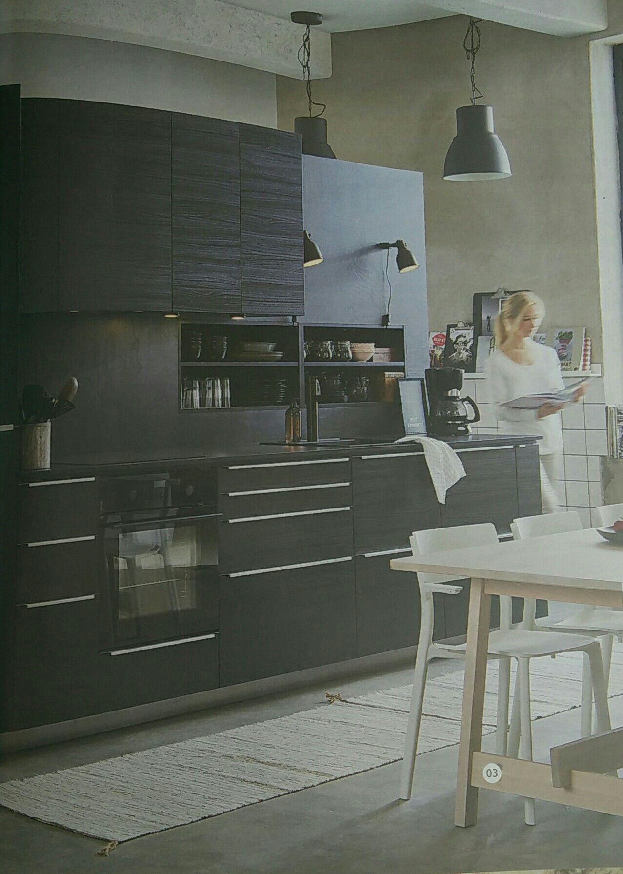 ikea metod/tingsryd kitchen  Ikea kitchen, Home kitchens, Ikea