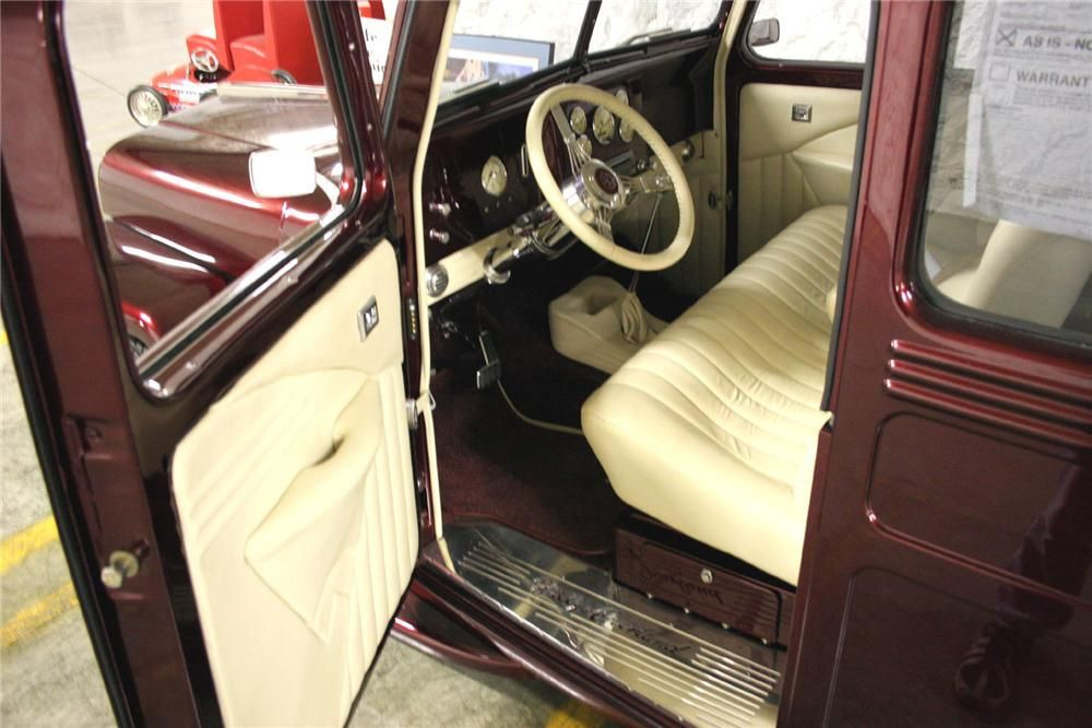 1946 Willys Overland Custom Wagon Interior 49550 With Images Willys Overlanding Wagon