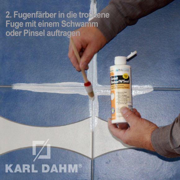 Fugen Färben Erfahrungen : fugen faerben fugen erneuern mit fugenfarbe bad farben ~ Watch28wear.com Haus und Dekorationen