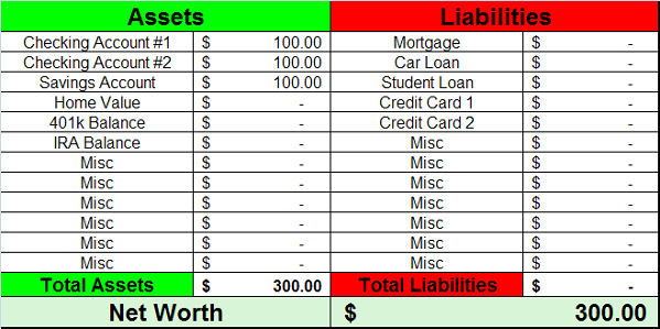 financial excel spreadsheets