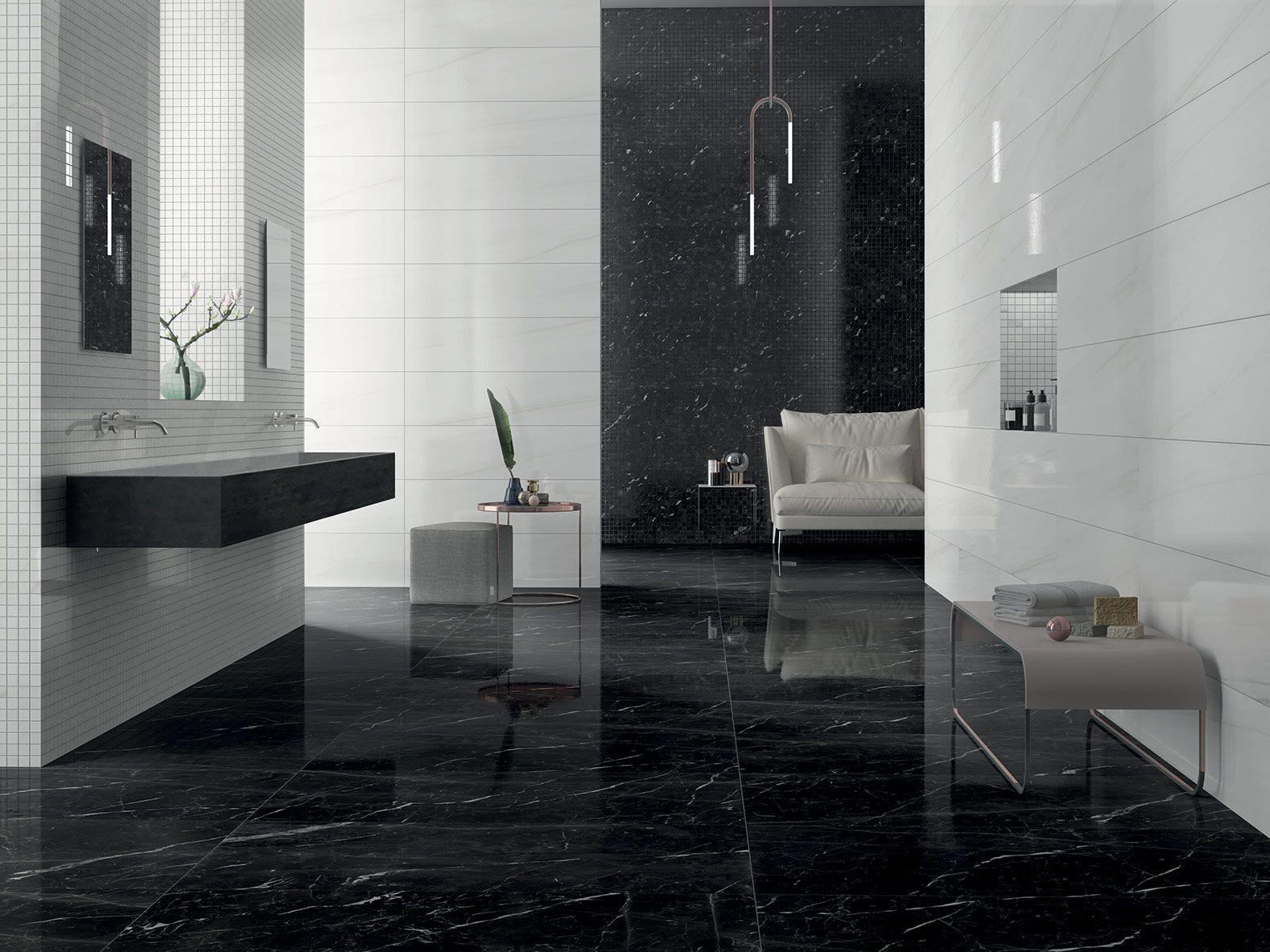 Bagni In Marmo Nero : Il marmo nero in bagno ha uno stile assolutamente incredibile in