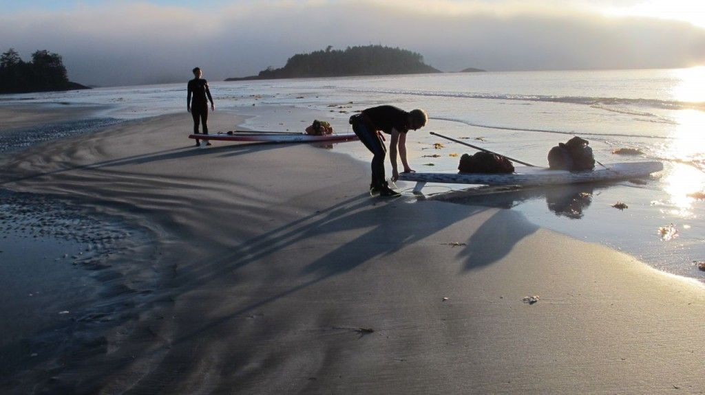 Tofino Paddle Surf - Vargas-Island-Paddle-Adventure-Tour