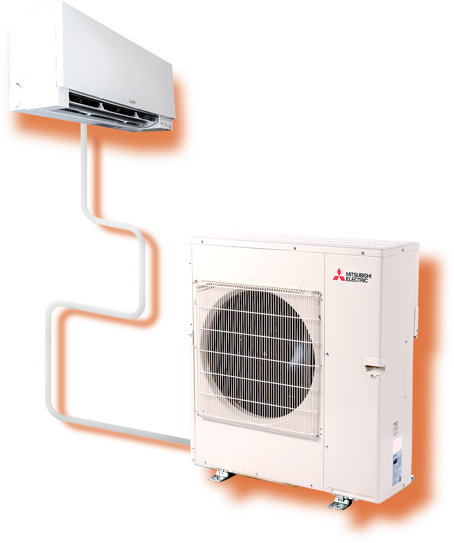 Wall Mounted Air Conditioner Units Mitsubishi Electric Cooling Heatin In 2020 Wall Mounted Air Conditioner Heating And Cooling Units Central Air Conditioning Units