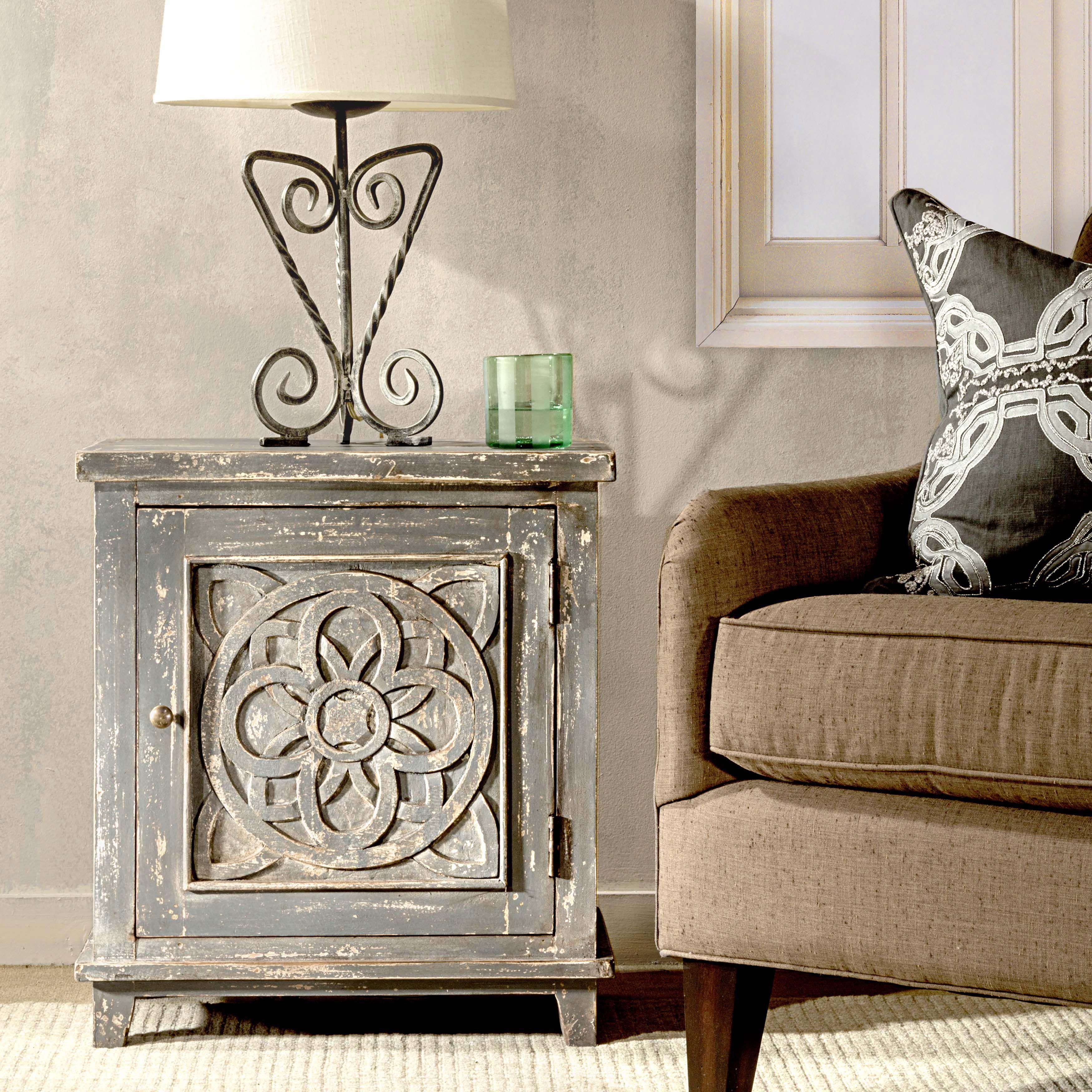 Hillsdale furniture havana door cabinet cabinet grey