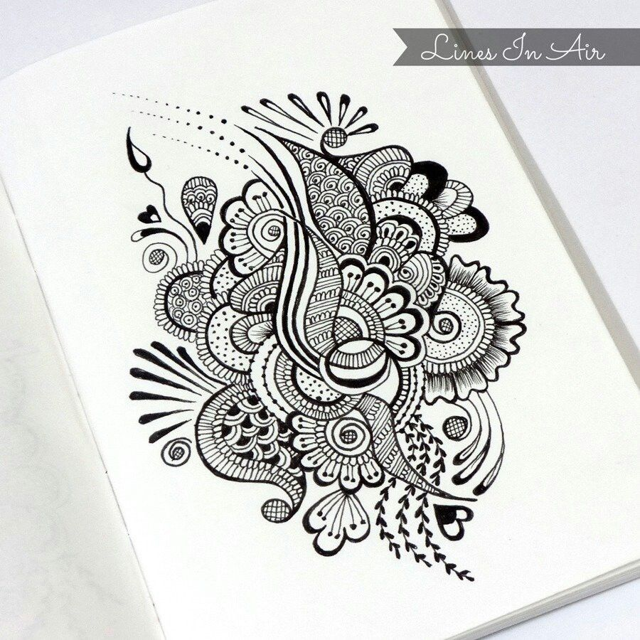 Henna Design Line Art : Tumblr inspiration pinterest zentangle doodles and