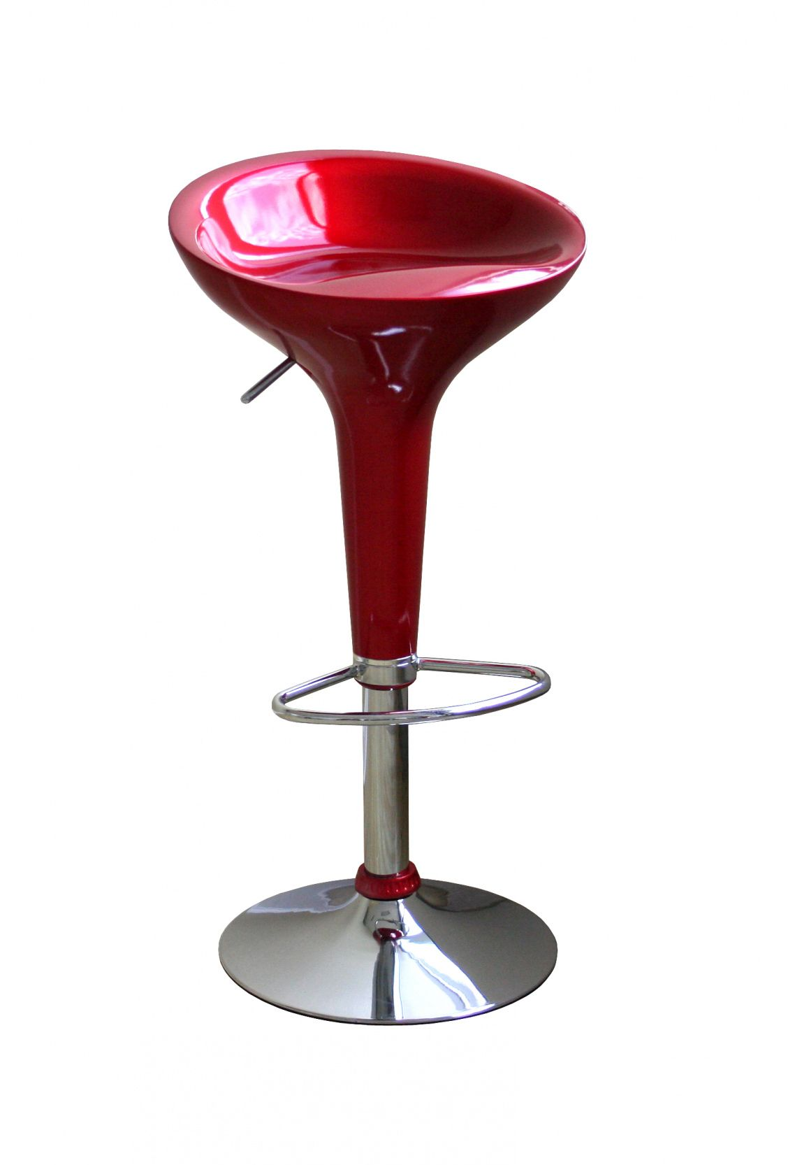 red bar stool chairs