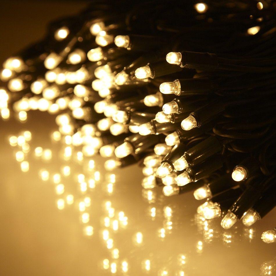 114 Bulb Outdoor String Light 12m Green Cable | Garden | Pinterest ...