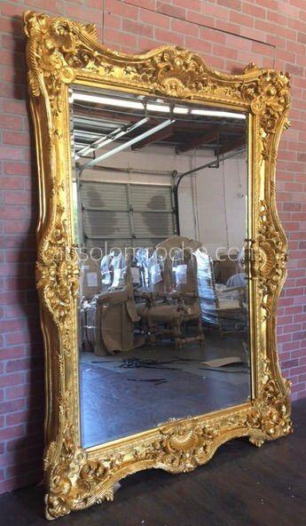 Baroque Mirror Gold Ornate, Baroque Gold Floor Mirror