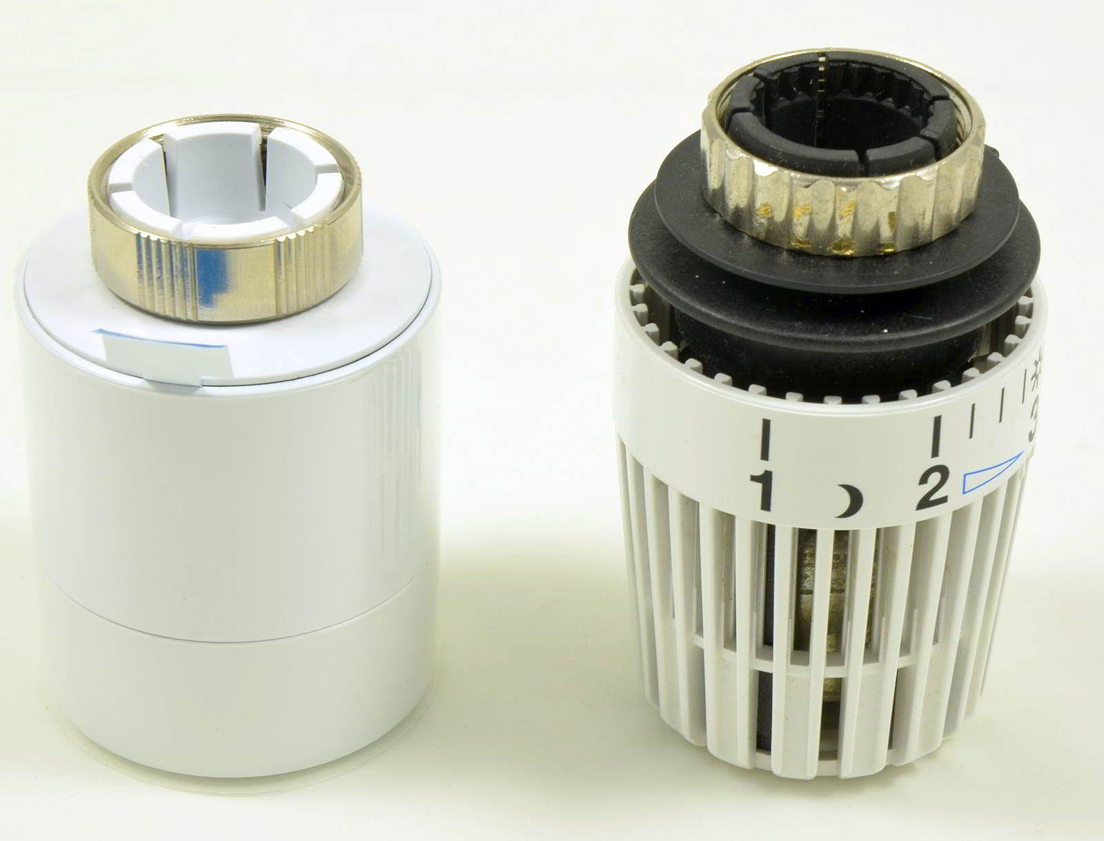 Alte Heizkörper zum vergleich links der etwas kleinere tado heizkörper thermostat
