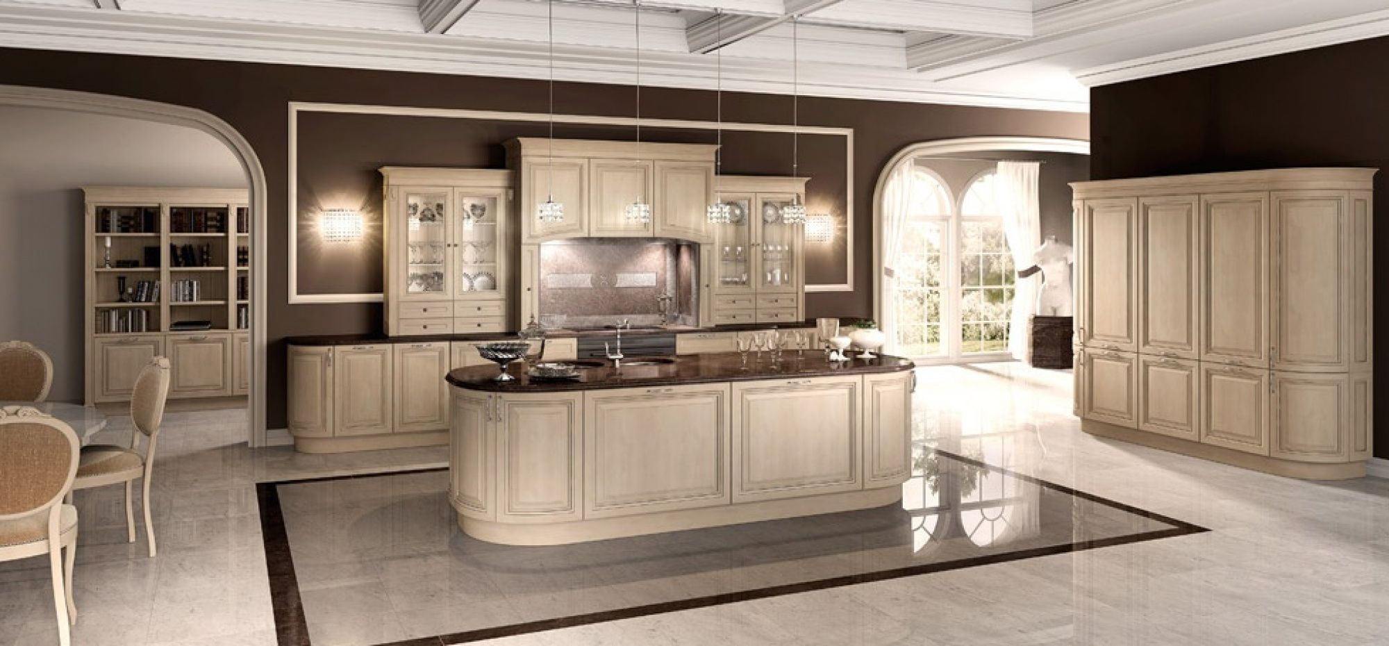 Florence • Cucine classiche by Berloni, kitchen | Espaces de la ...