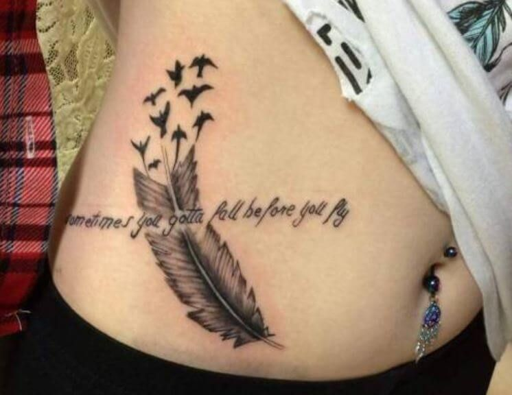 tattoo frauen bauch