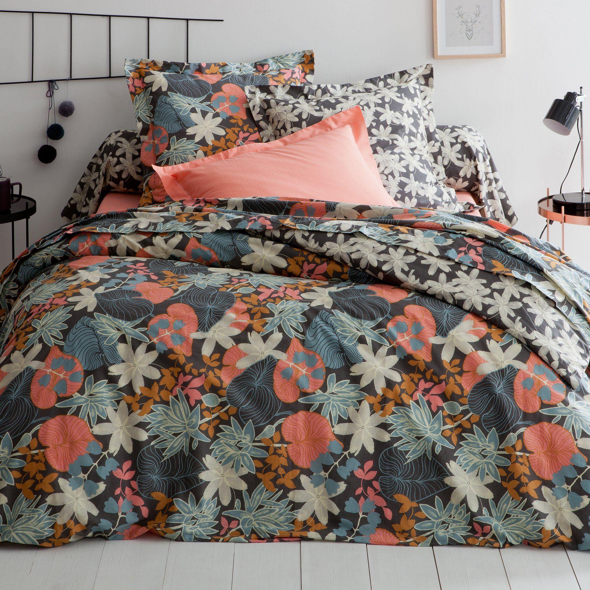 Housse De Couette Coton Imprim 233 Rousseau Bed Linen