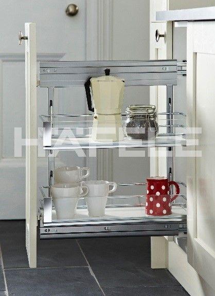 Häfele Loves Simple Storage That Makes Use Of Every Space In Your Kitchen.  The Slimline. Kitchen StorageCupboardsBaskets