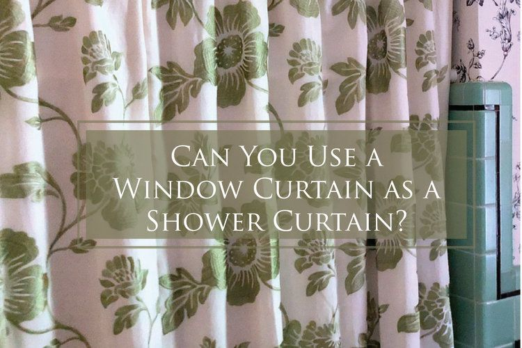 How To Use A Window Curtain As Shower In Your Bathroom Ideas For Dressing Up Without Remodeling