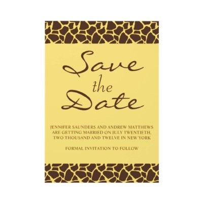 Save the safari date...
