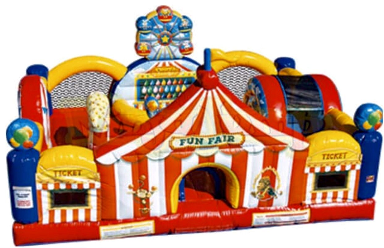Pin on toddler playland combo bouncers